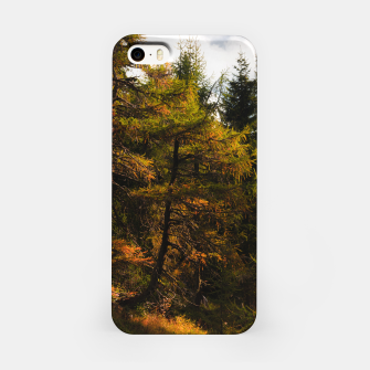 Thumbnail image of Golden European larch in autumn colors iPhone Case, Live Heroes