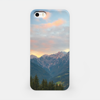 Thumbnail image of Stunning sunrise in Logar valley, Slovenia iPhone Case, Live Heroes