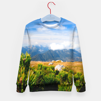 Imagen en miniatura de Autumn mountain scenery Kid's sweater, Live Heroes