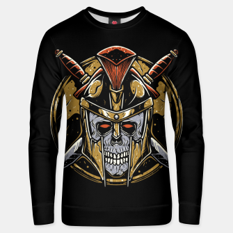 Thumbnail image of Skull Spartan Unisex sweater, Live Heroes