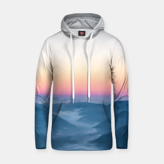 Miniature de image de Morning fog and magical sky before sunrise Hoodie, Live Heroes