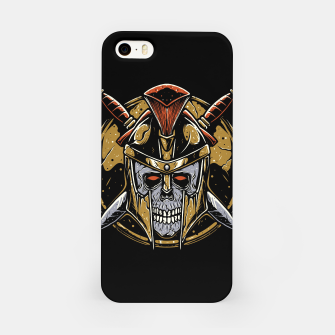 Thumbnail image of Skull Spartan iPhone Case, Live Heroes