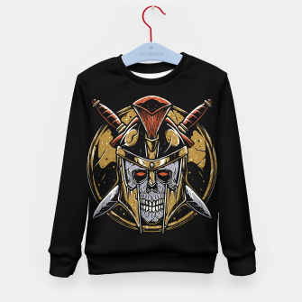 Thumbnail image of Skull Spartan Kid's sweater, Live Heroes