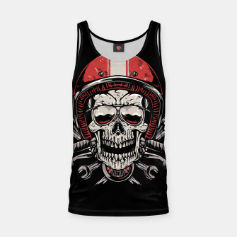 Skull Biker Tank Top miniature