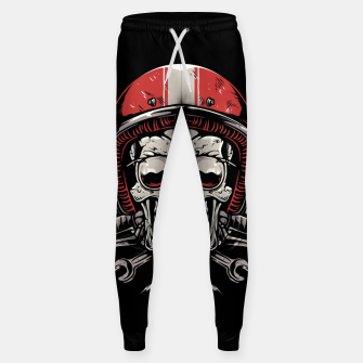Skull Biker Sweatpants miniature