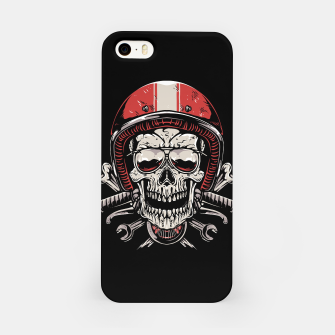 Skull Biker iPhone Case miniature