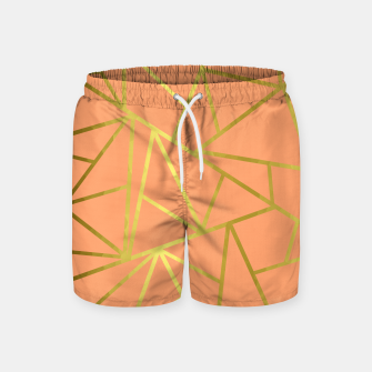Thumbnail image of Coral Design Swim Shorts, Live Heroes