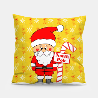 Thumbnail image of North Pole Santa Pillow, Live Heroes
