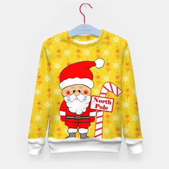 Imagen en miniatura de North Pole Santa Kid's sweater, Live Heroes
