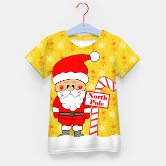 Thumbnail image of North Pole Santa Kid's t-shirt, Live Heroes