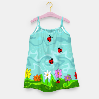 Thumbnail image of A Cloudy Summer Day Girl's dress, Live Heroes
