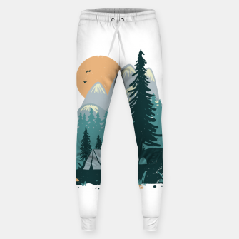 Miniatur Back to Nature Sweatpants, Live Heroes