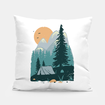 Miniatur Back to Nature Pillow, Live Heroes