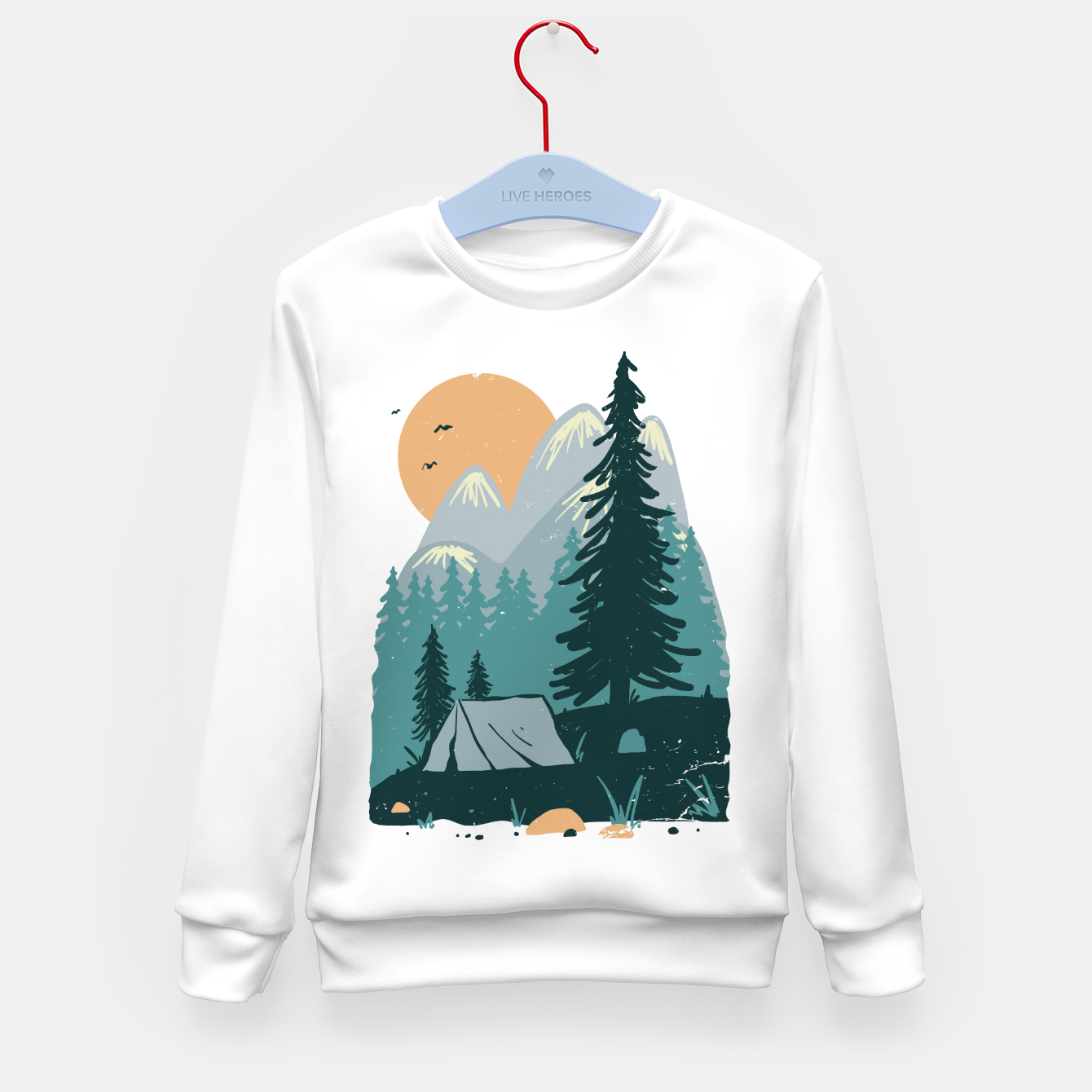 Image de Back to Nature Kid's sweater - Live Heroes