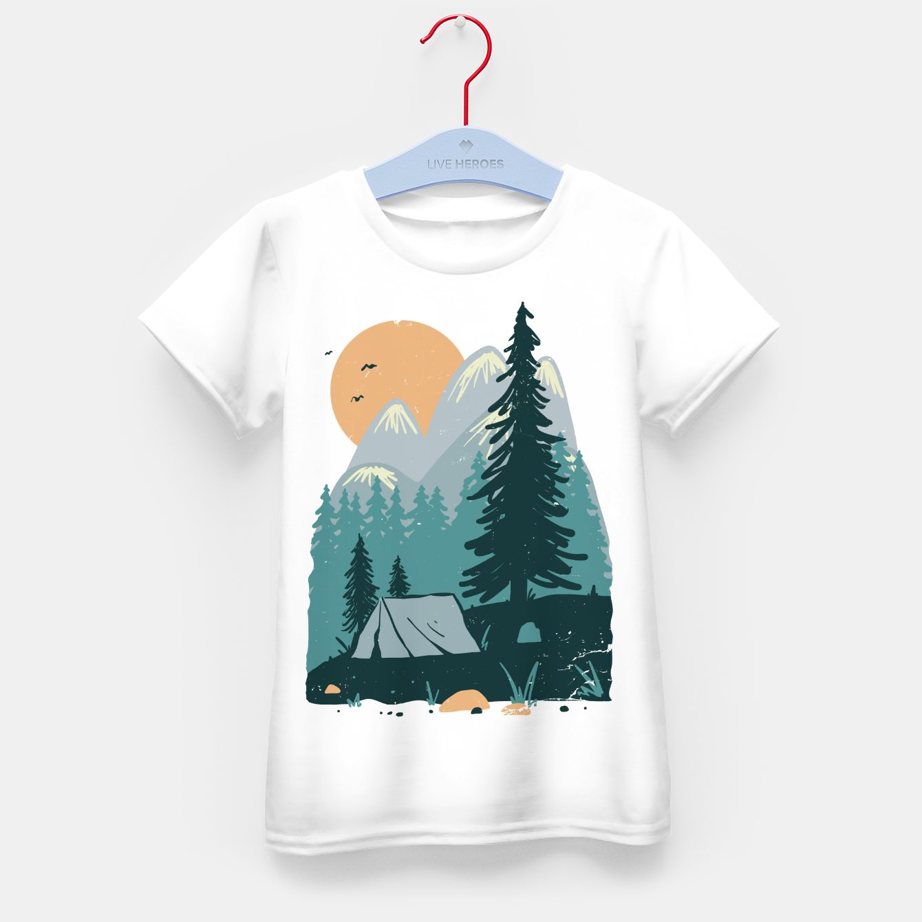Image de Back to Nature Kid's t-shirt - Live Heroes