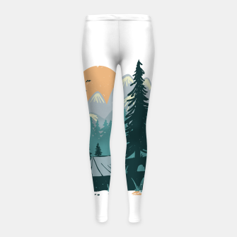 Miniature de image de Back to Nature Girl's leggings, Live Heroes