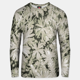 Thumbnail image of Pale Tropical Floral Print Pattern Unisex sweater, Live Heroes