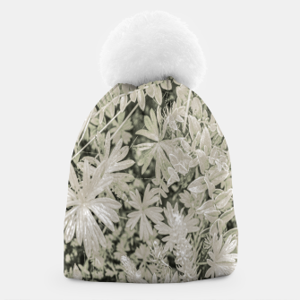 Thumbnail image of Pale Tropical Floral Print Pattern Beanie, Live Heroes