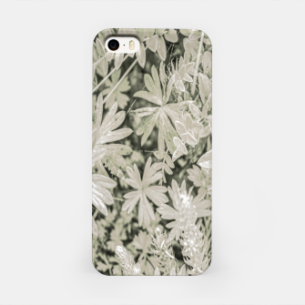 Thumbnail image of Pale Tropical Floral Print Pattern iPhone Case, Live Heroes