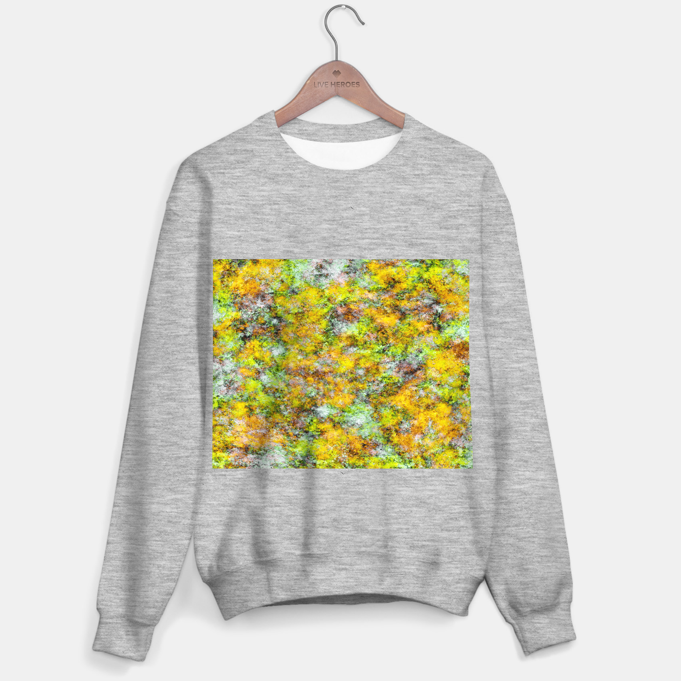 Image of Scrambled eggs Sweater regular - Live Heroes