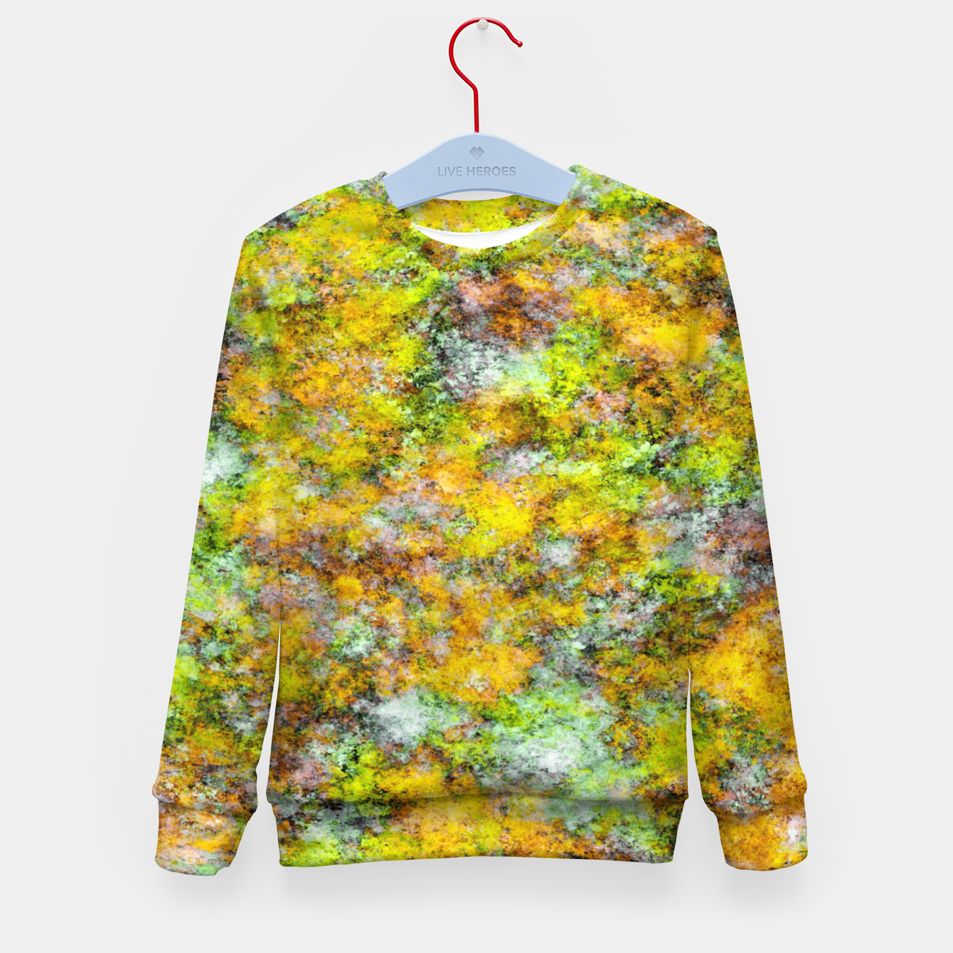 Image of Scrambled eggs Kid's sweater - Live Heroes