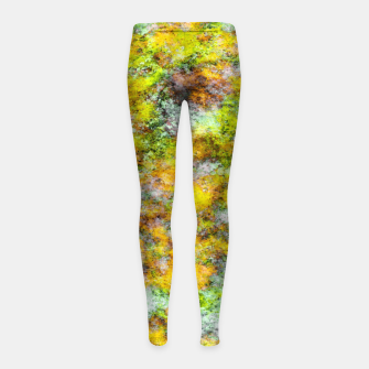 Thumbnail image of Scrambled eggs Girl's leggings, Live Heroes