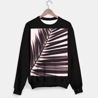 Miniature de image de Palm leaf print, nostalgic photography, nature photo Sweater regular, Live Heroes