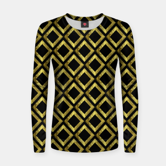 Thumbnail image of Gold Diamonds Women sweater, Live Heroes