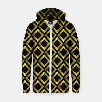 Thumbnail image of Gold Diamonds Zip up hoodie, Live Heroes
