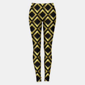 Thumbnail image of Gold Diamonds Leggings, Live Heroes