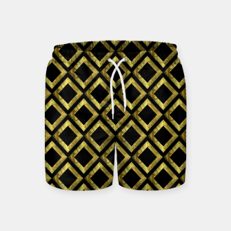 Thumbnail image of Gold Diamonds Swim Shorts, Live Heroes