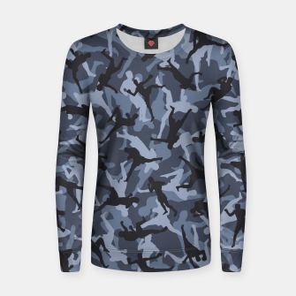 Thumbnail image of MMA Camo URBAN WARRIOR Women sweater, Live Heroes