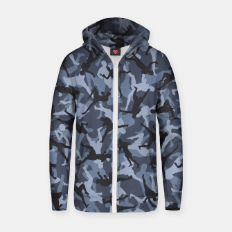 Thumbnail image of MMA Camo URBAN WARRIOR Zip up hoodie, Live Heroes