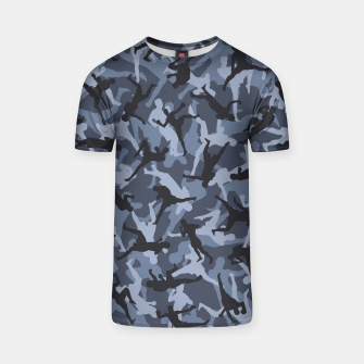 Thumbnail image of MMA Camo URBAN WARRIOR T-shirt, Live Heroes