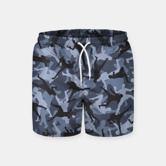Thumbnail image of MMA Camo URBAN WARRIOR Swim Shorts, Live Heroes