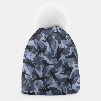 Thumbnail image of MMA Camo URBAN WARRIOR Beanie, Live Heroes