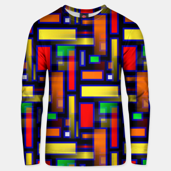 Thumbnail image of Color Merge Unisex sweater, Live Heroes