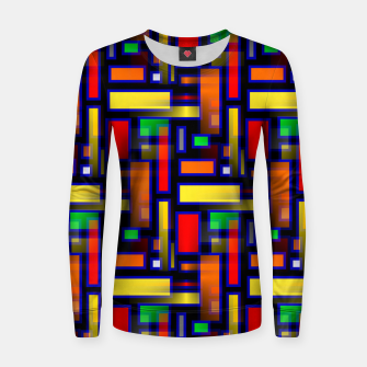 Thumbnail image of Color Merge Women sweater, Live Heroes