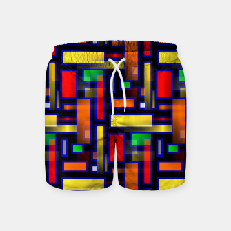 Thumbnail image of Color Merge Swim Shorts, Live Heroes