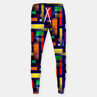 Thumbnail image of Color Merge Sweatpants, Live Heroes
