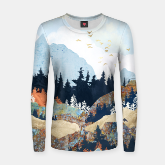 Thumbnail image of Spring Flight Women sweater, Live Heroes