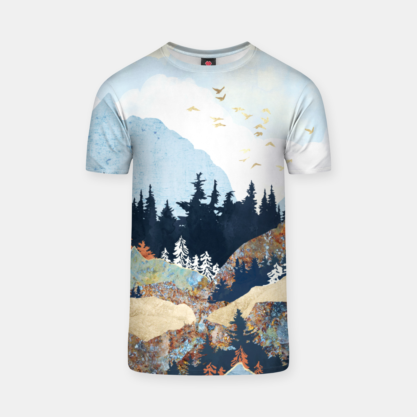 Image of Spring Flight T-shirt - Live Heroes