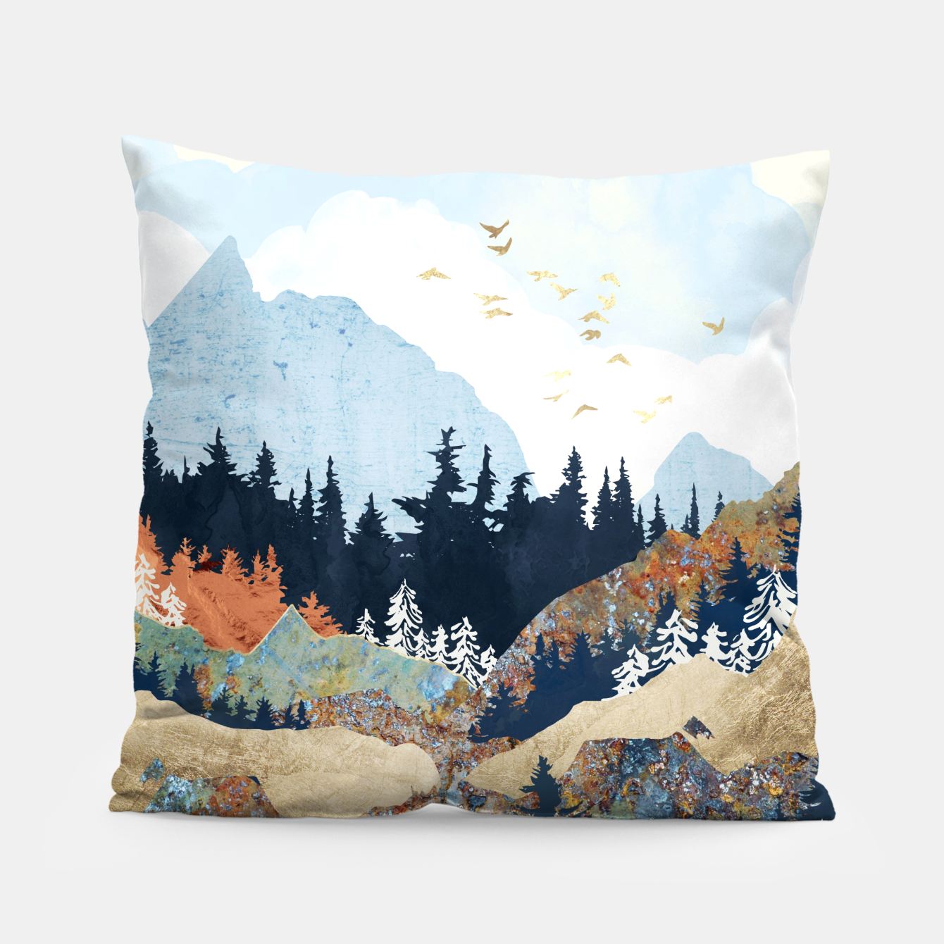 Image of Spring Flight Pillow - Live Heroes