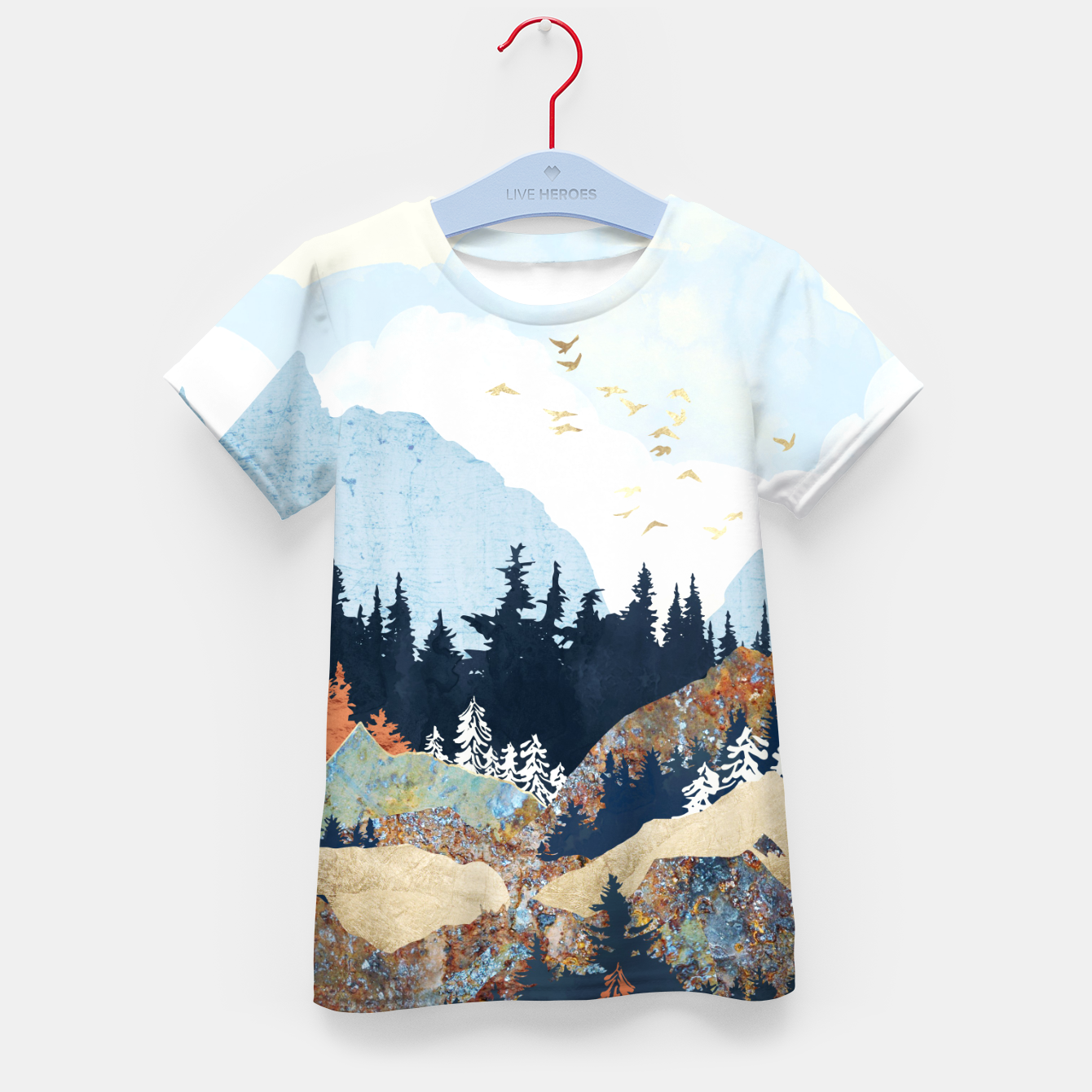 Image of Spring Flight Kid's t-shirt - Live Heroes