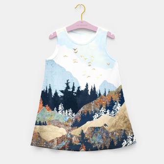 Thumbnail image of Spring Flight Girl's summer dress, Live Heroes
