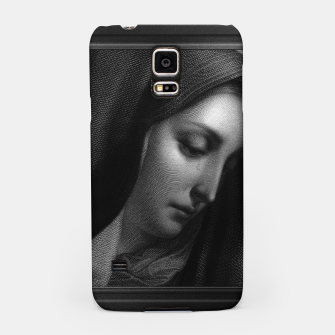 Thumbnail image of Mater Dolorosa Engraving After A Painting by Carlo Dolci Classical Art Portrait Reproduction Samsung Case, Live Heroes