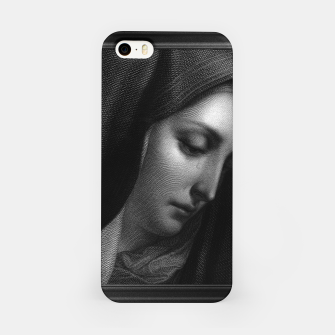 Thumbnail image of Mater Dolorosa Engraving After A Painting by Carlo Dolci Classical Art Portrait Reproduction iPhone Case, Live Heroes