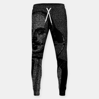 Thumbnail image of Shakespeare Midsummer Night's Typography Portrait Sweatpants, Live Heroes
