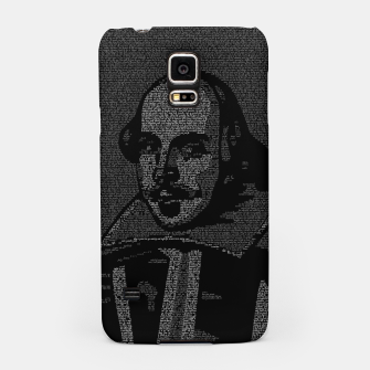 Thumbnail image of Shakespeare Midsummer Night's Typography Portrait Samsung Case, Live Heroes