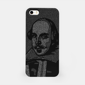 Thumbnail image of Shakespeare Midsummer Night's Typography Portrait iPhone Case, Live Heroes